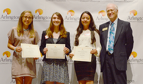 Scholarship recipients in Falls Church City
