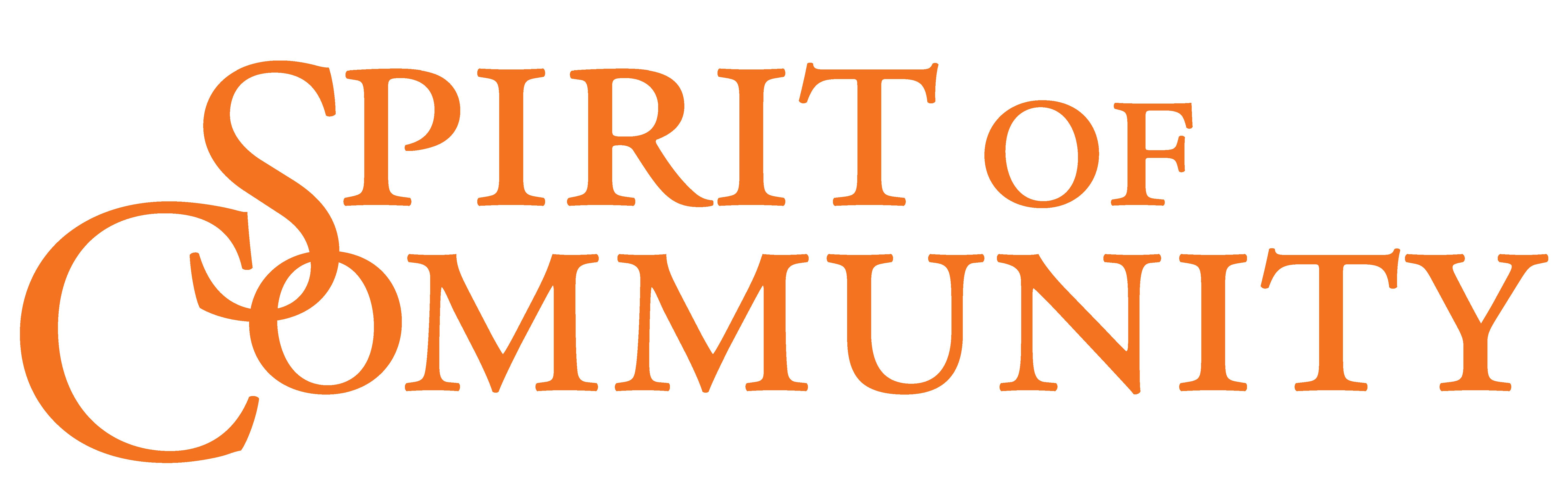 Spirit of Community logo